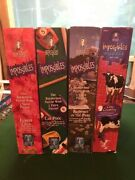 Bepuzzled Impossibles Lot Of 4 - 750pc Puzzle +5 Extra Pieces Complete-1 New
