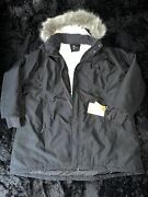 Womens Winter Parka All In Motion 3x Cold Weather Jacket Black Faux Hood Coat