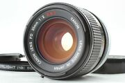 [rare Concave O Mint+++] Canon Fd 35mm F2 S.s.c. Ssc Wide Angle Mf Lens Japan