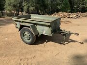 Military Trailer Jeep Willys 1949