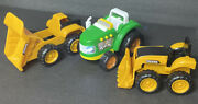 Lot Of Construction Toys Cat Sound And John Deere