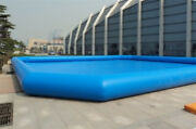 2323ft Ground Inflatable Family Swimming Pool Inflatable Kids Fun Play Pvc