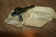 Nos Curtis Convertible Latch With Screws No. C-2793 Statuary Bronze See Pix