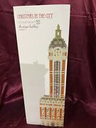 Dept 56 Christmas In The City The Singer Building - 6000569 Nib