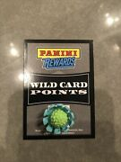 Panini Rewards Wild Card Points Mystery Value Up To 15000 Points Unused