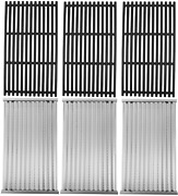 Grill Cooking Grill Grates And Emitter Plates Set For Charbroil Tru-infrared 8pc