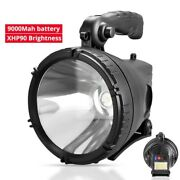 Led Flashlight Waterproof Portable Powerful Camping Light Lanterns Rechargeable