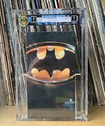 1989 Batman Vhs Movie Igs 9 And 8andhelliphighest Grade Yet