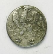 War Of 1812 One-piece Pewter Infantry Button 1811 Reshanked