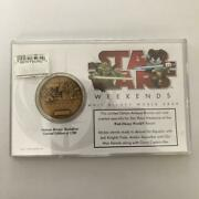 2009 Disney World For Star Wars Weekend Limited Edition Antique Bronze Coin