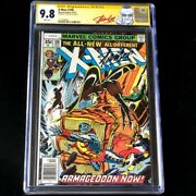 X-men 108 1977 💥 Cgc Ss 9.8 Signed By Stan Lee 💥 Marvel Comic