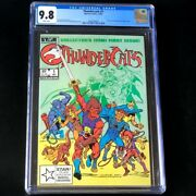Thundercats 1 Marvel 1985 💥 Cgc 9.8 White Pages 💥 Rare Comic Movie Coming