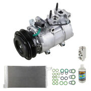 For Ford Focus 2014 Oem Ac Compressor W/ Condenser Drier Csw