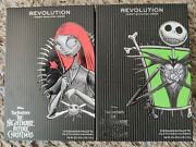 Makeup Revolution Nightmare Before Christmas Sally/jack Palettes Bnib Sold Out