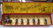 Britain French Army The Foreign Legion No. 1711 Lead Figures Boxed Set L4
