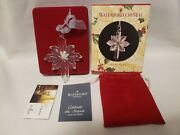 Waterford Crystal 2003 Star Ornament With Box And Papers