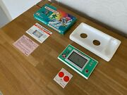 Rare Boxed Nintendo Game And Watch Balloon Fight Vintage 1988 Lcd Game Pristine