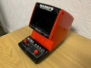 Cgl / Nintendo Tabletop Game And Watch Marios Cement Factory Vintage 1983 Game.