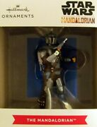 2021 Hallmark Christmas Ornament - Disney/star Wars And039the Mandalorianand039 W Jet Pack