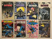 Batman Lot Of 23 Dc Comics Year 1 And 3, Death In The Family, Beast, Many Deaths