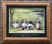 Baby Jack Nicklaus And Arnold Palmer Legends On The Green Kenneth Gatewood Print