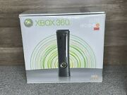 Xbox 360 Elite Console Black 120gb System Video Game Systems Very Good
