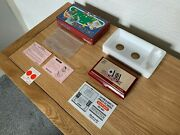 Boxed Nintendo Game And Watch Black Jack 1985 Lcd Electronic Game - Pristine/a++