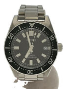 Secondhand /automatic Watch/analog/stainless/black/silver/6r35-00p0 Clothing
