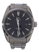 Secondhand Omega Watch/1575/899/2517.50/59235150/analog/stainless/black/silver