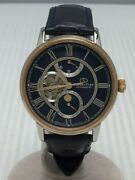 Secondhand Orient Star Self-winding Watch/analog/leather/nvy/nvy/orient