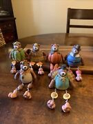 Vintage Harvest/thanksgiving Bears Shelf Sitters Figurines 2005 Collections Etc.