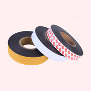 Self Adhesive Magnetic Craft Tape 10-100mm Wide Flexible Sticky Magnet Strips