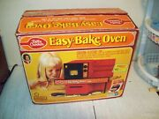 Vintage 1973 Kenner Betty Crocker Easy Bake Oven Tested Working In The Box