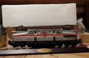 Lionel Classic Train Collection Gg 1 Electric Engine With Wood Base Plaque 1994