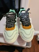 Size 10- Adidas Turnout Trainer X Alexander Wang Clear Mint 2018