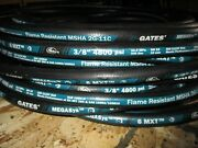 Gates Hydraulic Hose 6mxt 3/8 100and039 Feet Two Wire Hose Sae 100r16 4800 Psi