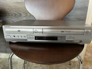 Sony Slv-d300p Dvd/vcr Combo Player Vhs Rec. 4head Tested Works/ Free Rewinder
