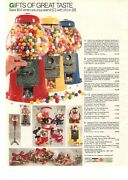 Vintage 1989 Various Gumball Machines / Cartoon Characters Print Ad Clipping