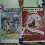 Deere And Co Moline Illinois 1990 Vintage John Deere Reproduction Posters