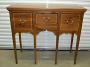 Rare Ethan Allen Country Craftsman Huntboard Buffet Sideboard Pine 19-9337 219