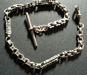 Vintage Standard Sterling Silver Watch Fob Looks Better In Hand Ecoinsales