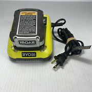 Ryobi C120d One 12v Volt Lithium Ion Battery Charger With Cb120n Battery