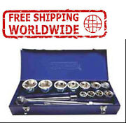 25mm 1 Drive Socket Set D Series 36 To 80mm Chrome Plated Polished Sae 15h