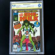 Savage She-hulk 1 💥 Signed By Stan Lee 💥 Cbcs 9.8 White Pages Key Comic 1980