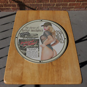 Vintage 1944 Snap-on-tools Choice Of Better Mechanics Porcelain Gas And Oil Sign