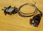 Heater Controls Valve And Cables Chevy Chevrolet 1949 49 50 1950 51 52 1951 1952
