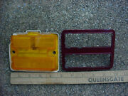 Gm 73 74 75 76 77 Chevrolet Chevelle Left Front Side Marker Guide 1a Chevy Ss