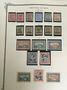 British Guiana Stamp Collection 1860-1966 On Scott Specialty Pages
