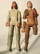 Vintage Louis Marx Johnny West And Geronimo Indian Action Figure