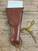 Boyt 42 Ww2 Wwii Us Army Military Colt 45 Leather Holster Made In England